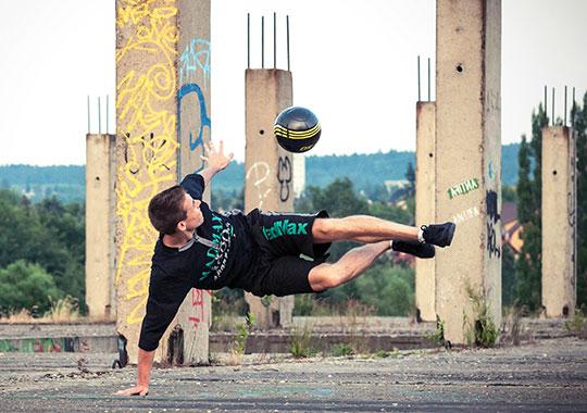 Freestyle foci trükkök » Half