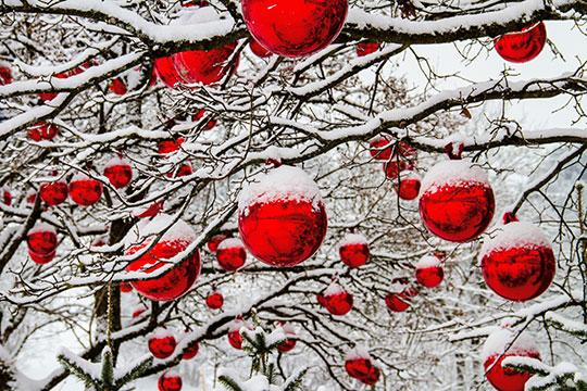 Karácsonyi trükkök » Koszorú