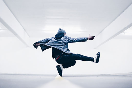 Melbourne Shuffle trükkök » Spin
