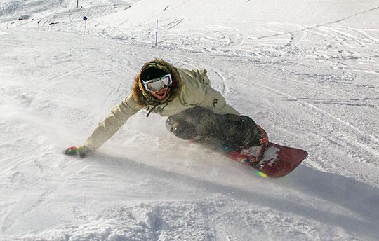 Snowboard trükkök » Kézenállás