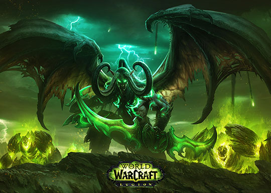 World of Warcraft trükkök » Cast